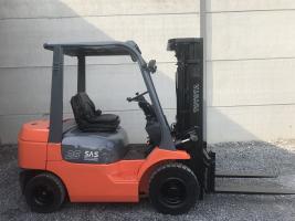 Toyota 62-7FDF25 (253) heftruck diesel triplex