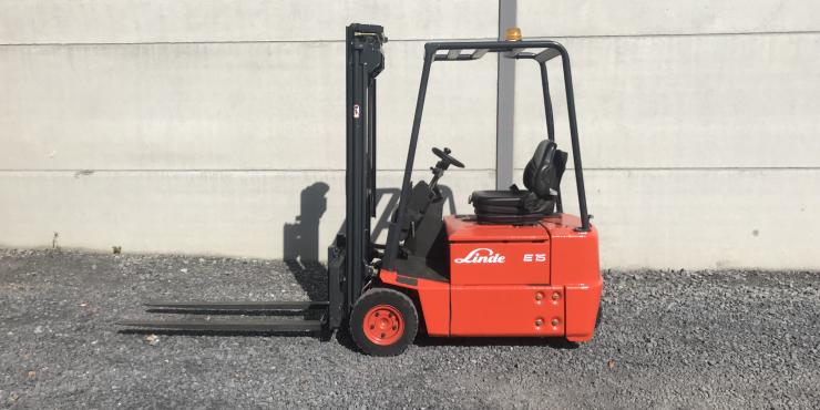 Linde E15Z-02 (180) heftruck elektrisch full free