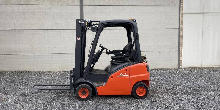 Linde H16T heftruck LPG (190)