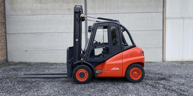 Linde H40D (249) heftruck diesel - 4 ton