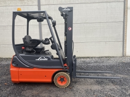 Linde E14-02 (206) heftruck elektrisch full free