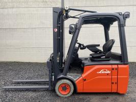 Linde E16-01 (180) heftruck elektrisch full free TRIPLEX