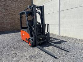Linde E16-01 (205) heftruck elektrisch full free TRIPLEX