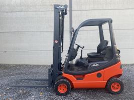 Linde H12T-03 (197) heftruck op LPG - triplex