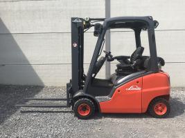 Linde H20T (204) heftruck op LPG - triplex
