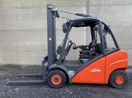 Linde H25D (261) heftruck diesel - free lift