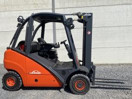 Linde H25T gas heftruck triplex (211)