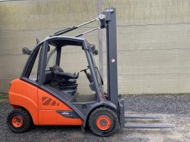 Linde H30D-02 EVO heftruck triplex diesel 3 ton (233)