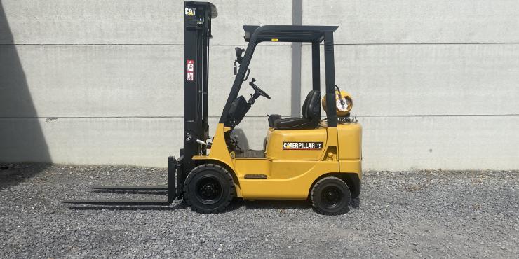 Caterpillar GP15K (121) heftruck LPG (gas)