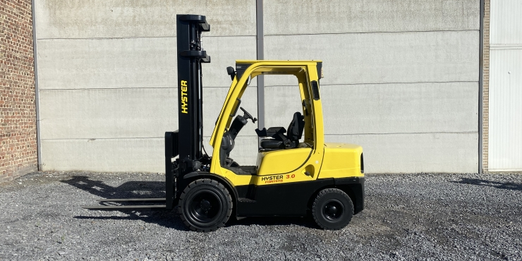 Hyster H3.0FT heftruck diesel 3 ton  (260)