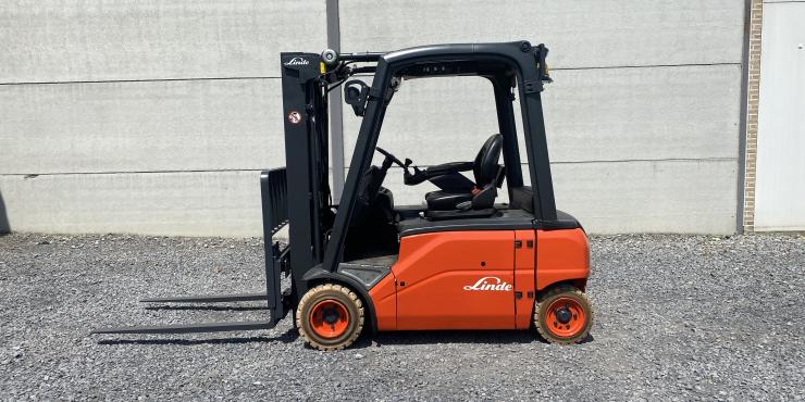 Linde E20PL-01 (179) heftruck elektrisch triplex
