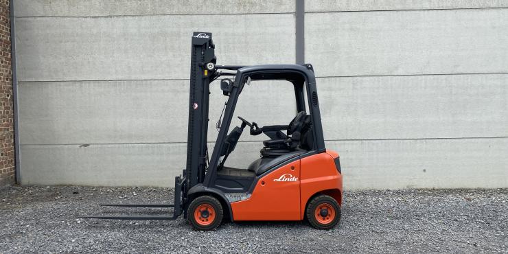 Linde H16D-01 (198) heftruck diesel