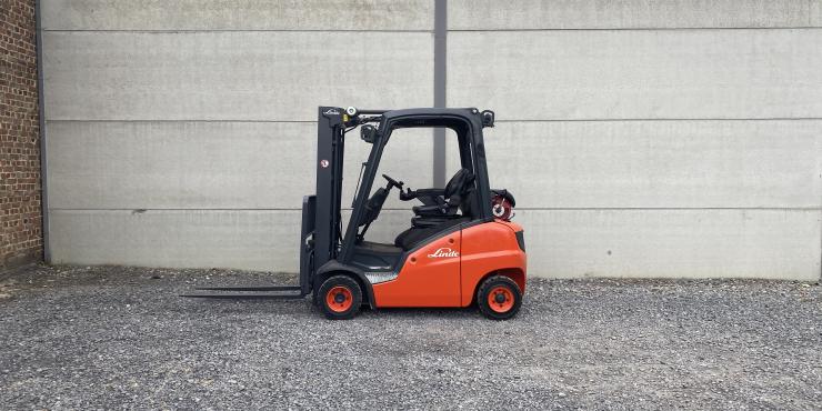 Linde H20T-01 (180) heftruck LPG