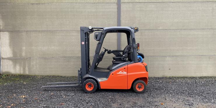Linde H20T (190) heftruck op LPG - triplex