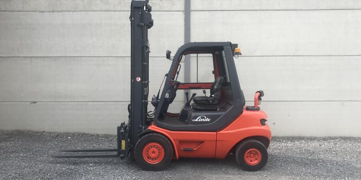 Linde H25D-03 (260) heftruck diesel