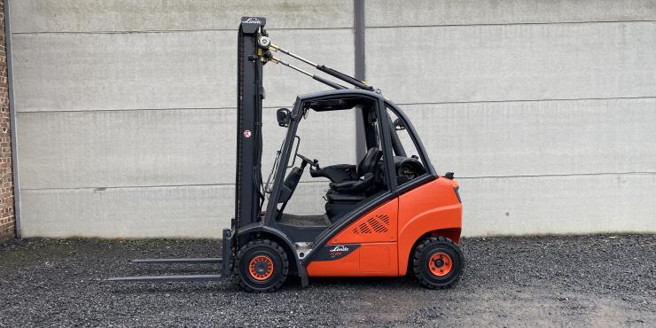 Linde H25T-02 EVO heftruck LPG (232)