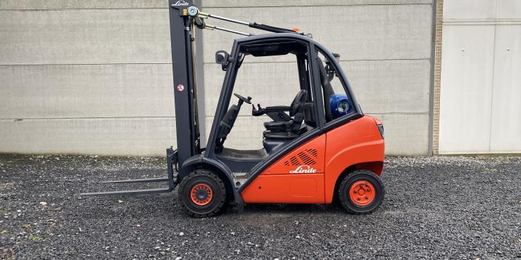 Linde H25T heftruck op LPG (253)