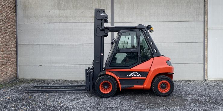 Linde H70D-02 (233) heftruck diesel - 7 ton