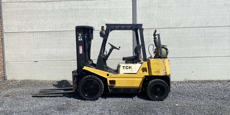 TCM FG35N5 heftruck op LPG (257)