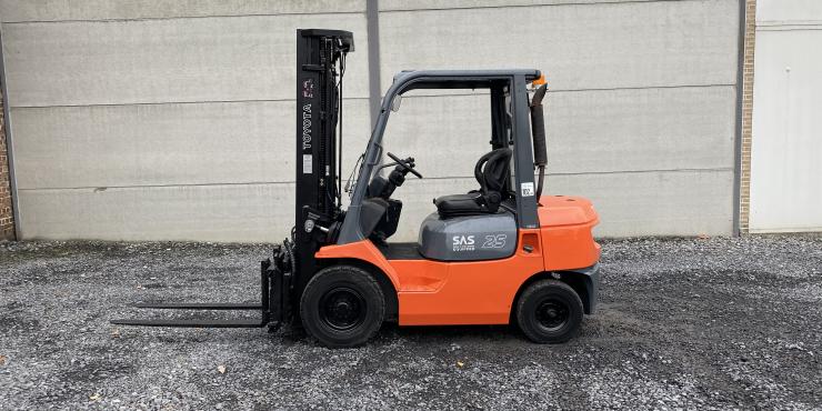 Toyota 62-7FDF25 (242) heftruck diesel